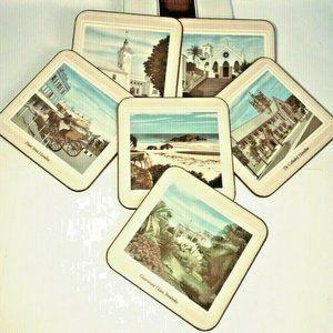 Box 6 Vintage Pimpernel Bermuda Scenes Coasters